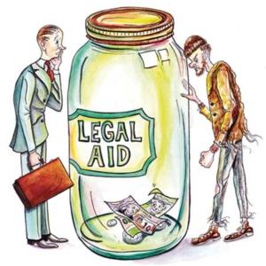 Legal Aid cash running low